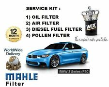 FOR BMW F30 320D 2.0 N47D20  2011--  SERVICE KIT OIL AIR FUEL POLLEN FILTER SET