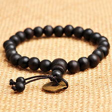 Shamballa Jewelry Rope Wood Beaded Bracelet for Men and Women Pick your Style
