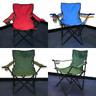 2X NEW Portable Folding Outdoor Chair Travel Fishing Camping With Carry Bag