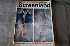 1963 Screenland, Natalie Wood in Gypsy, Connie Stevens, Jim Drury, Carol Burnett