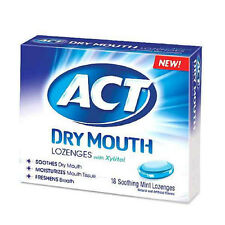 ACT Total Care Soothing Mint Dry Mouth Lozenges 18 ea