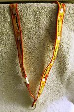 "BEAUTIFUL - HELLO KITTY - YELLOW, RED AND BLACK LANYARD - ""I LOVE APPLES"" - RARE"