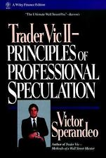 Wiley Trading Ser.: Trader Vic II : Principles of Professional Speculation 40...