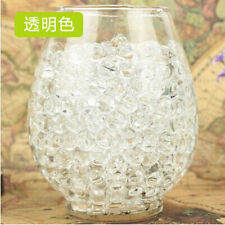 10 Bags Pearl Shaped Crystal Soil Water Beads Mud Grow Magic Balls [Clear]