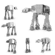 3D Laser Cut Metal Model Puzzles Jigsaw DIY AT-AT Walker Set For Xmas Gift