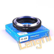 Macro Lens Adapter For FD to Canon EOS 5D Mark 7DII 750D 80D 700D 5DR 760D