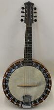 THE WINDSOR PYXE Model 1 Banjo Mandolin c. 1920 Vintage 8-String Instrument