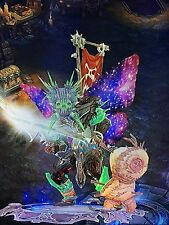 DIABLO 3 PS4 MODDED PATCH 2.4.3 WITCH DOCTOR GRIFT 150 POWER LEVEL + WING + PET