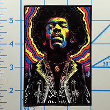 "Jimi Hendrix 4"" Color Vinyl Decal Sticker BOGO"