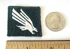 "NORTH TEXAS STATE MEAN GREEN EMBROIDERED IRON-ON 1 1/2"" x 1 1/2"" MINI CAP PATCH"