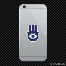 Hansa Hand Amulet Cell Phone Sticker Mobile Die Cut evil eye