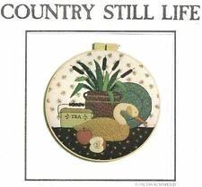 Country Appliques COUNTRY STILL LIFE Design for Machine or Hand Applique