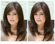 WJIA1019  vogue new style dark brown straight  long wigs for women hair wig