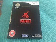 The House of the Dead: Overkill - Collector's Edition for Nintendo Wii Complete