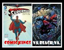 MAN OF STEEL ALL-STAR SUPERMAN #1 & SUPERMAN UNCHAINED #1 LOT x 2 COPIES OF EACH
