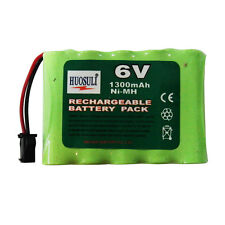 1 pc 5*AA 1300mAh 6V Ni-MH Rechargeable Battery Pack RC New Super power
