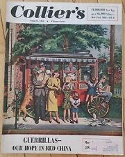 COLLIERS MAGAZINE JULY 21 1951 GUERRILLAS RED CHINA JIMMY DURANTE KIRK DOUGLAS
