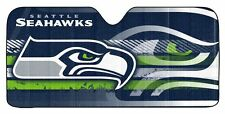Seattle Seahawks Auto Sun Shade -NEW NFL Car Truck Window Reflective Cover 59x27