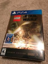 LEGO Star Wars The Force Awakens Deluxe Edition(PS4, 2016) + SEASON PASS (NEW)