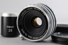 【AB- Exc】 Canon Rangefinder 28mm f/2.8 Lens for Leica L39 Screw w/Finder #2346