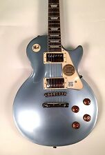 Epiphone Les Paul Standard Deluxe Top Electric Guitar Pelham Blue