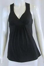 ANTHROPOLOGIE SILENCE + NOISE Urban Outfitters Black Green Sequin Tank Top Small
