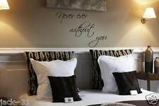 Wall Story lettering Never Ever Without You Quote definition words deco design
