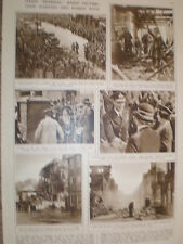 Photo article King George VI morale visit to bomb damaged Bath 1942