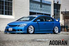 DIRECTIONAL 17X9 +35 AODHAN AH01 5X114.3 SILVER RIM FIT XB CIVIC SI ACCORD 240SX