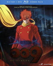 009 Re: Cyborg - Anime Movie [2012] (Blu-ray/DVD Combo Pack - 7/28/2015) NEW