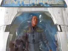 "Star Trek: Enterprise Broken Bow Ensign TRAVIS MAYWEATHER  7"" Action Figure BNIB"