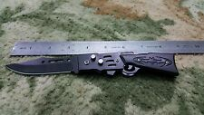 """Hunting and Rescue Knife  8"""" Stainless Steel Thumb Assisted Spring Lock (3006)"""