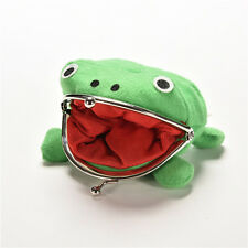 Naruto Frog Fluff Coin Purse Wallet New Cartoon Green Cute Gifts JSUK