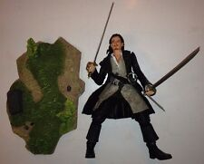 "2006 Neca WILL TURNER Pirates of the Caribbean 7"" Action Figure w/Base Series 1"