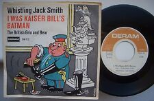 "WHISTLING JACK SMITH i was kaiser bill's batman 7"" VINYL 45rpm GERMANY nice 1967"