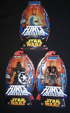 Star Wars ANAKIN SKYWALKER Darth Vader OBI-WAN KENOBI Force Battlers figure LOT
