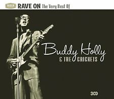 BUDDY HOLLY - RAVE ON: THE VERY BEST OF 3CD SET (2010)