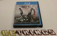 Saw VI Blu-ray Disc only of 2-Disc Set 2010 Unrated Directors Cut Free Shipping!