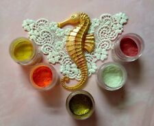 Sea Horse complete SET silicone mold fondant cake icing decorating FOOD APPROVED