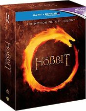 THE HOBBIT TRILOGY COMPLETE BLU RAY BOX SET 1 2 3 *NEW AND SEALED*