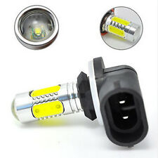 881 6000K HID White COB LED Fog Lights DRL Bulbs H27W/2 886 889 894 HOT uk