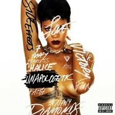 "RIHANNA ""UNAPOLOGETIC (LTD.DELUXE EDT.)""  CD + DVD NEU"