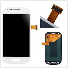 LCD Display Touch Screen Glass Assembly f Samsung Galaxy S3 III Mini i8190 White