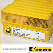 CCMT 21.51 LF KC9110 KENNAMETAL *** 10 INSERTS *** FACTORY PACK ***