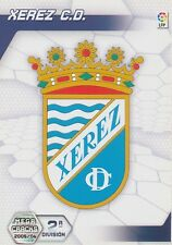 N°422 ESCUDO BADGE # XEREZ.CD TRADING CARD PANINI MEGACRACKS LIGA 2006