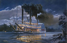"""Robert E. Lee"" Tom Freeman Artist Proof - Famous Steamboat on the Mississippi"