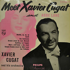 "MEET XAVIER CUGAT AND ABBE LANE 10""  LP (P735)"