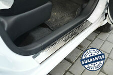 Nissan MICRA IV 5D 2010- Stainless Steel Door Sill Guard Cover Scuff Protectors
