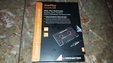 Monster iCarPlay Cassette Tape Adapter 800 Vehicle Music Stereo MP3 iPhone Phone