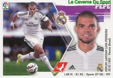 09 PEPE PORTUGAL REAL MADRID STICKER LIGA 2016 PANINI